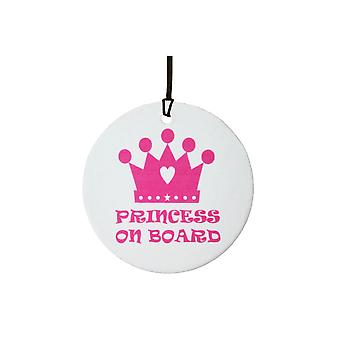 Princess On Board Car Air Freshener