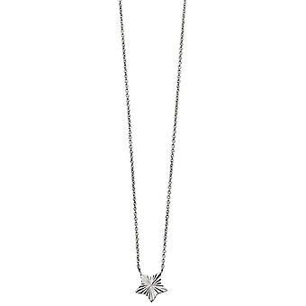 Commencements diamant taillé collier étoile - Silver