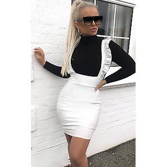 IKRUSH dame Aliana forklæde Mini kjole