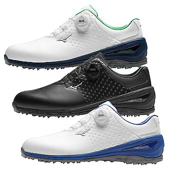 Mizuno Mens 2019 Nexlite 006 Boa Golf Ultra-Light Waterproof Leather Golf Shoes