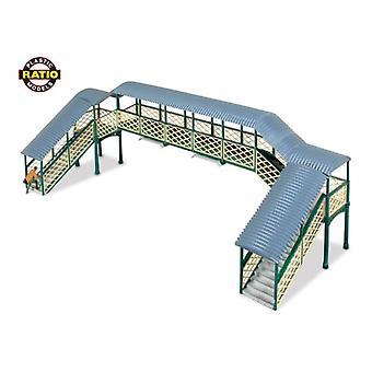 Ratio 548 modulaire Overdekte voetgangersbrug