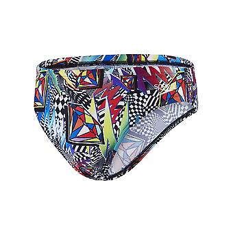 Speedo Boom Funk 5Cm Allover Brief Swimwear For Boys