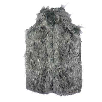 Deluxe Thick Faux Fur 2L Hot Water Bottle & Cover: Grey Wolf