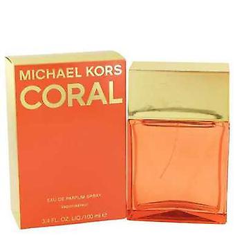 Michael Kors Coral By Michael Kors Eau De Parfum Spray 3.4 Oz (women) V728-531898