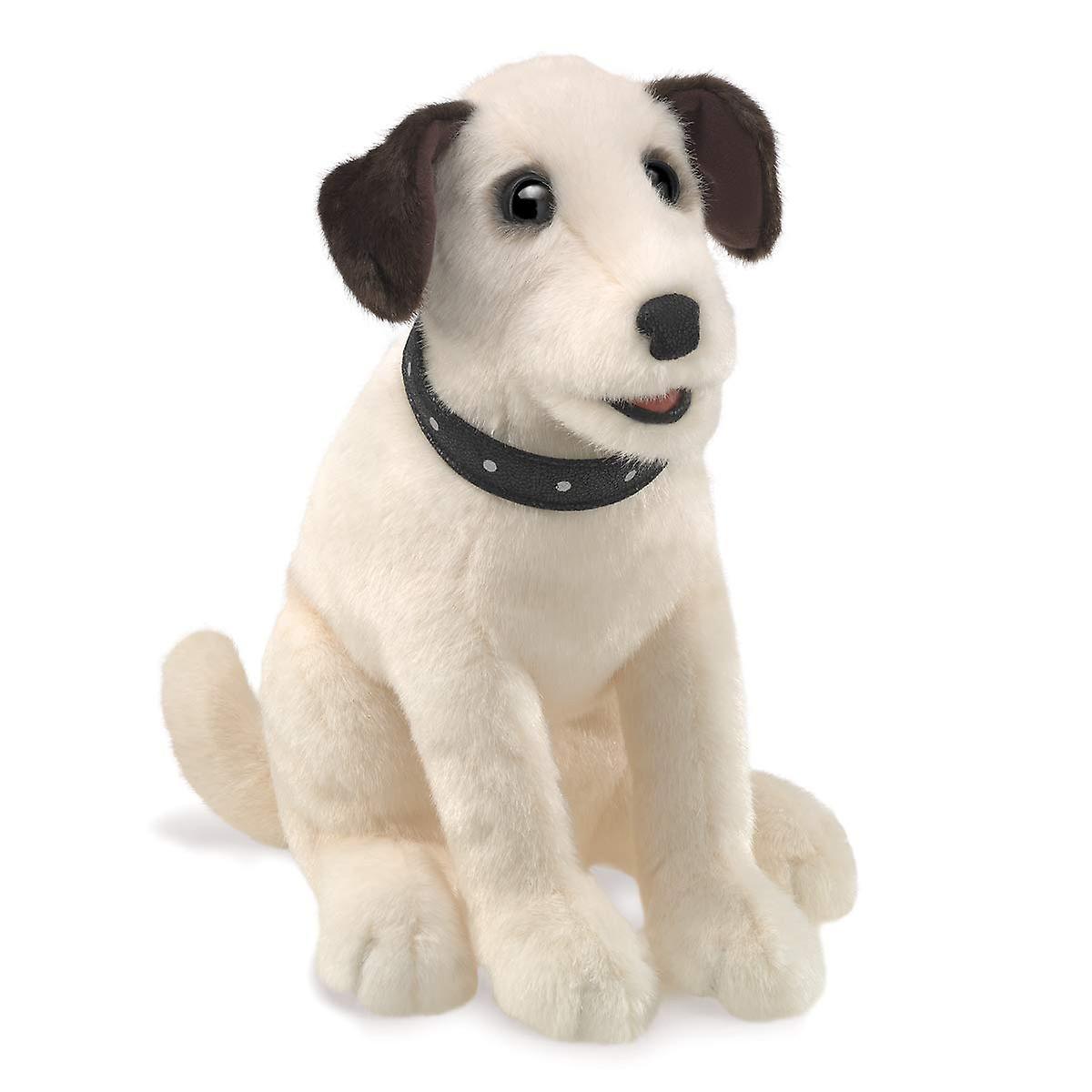 Hand Puppet - Folkhommeis - Terrier Sitting nouveau Toys Soft Doll Plush 3132