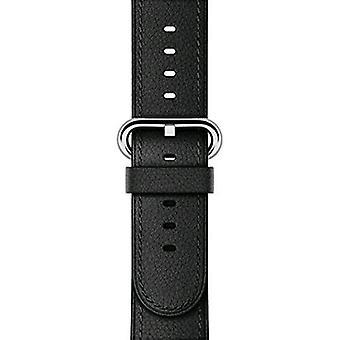 Apple 38mm classic black leather strap