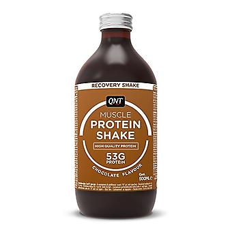 QNT Protein High Carbohydrate Post Training Recovery Shake (Chocolate) 12 X 500ml