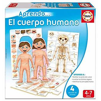 Educa Aprendo The Human Body (Toys , Educative And Creative , Science And Nature)