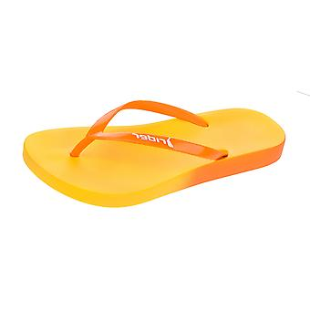 Rider Rio Womens Flip Flops / Sandals - Orange