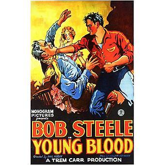Jóvenes de sangre Movie Poster (11 x 17)
