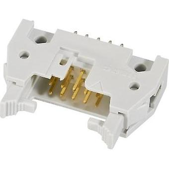 Pin connector + ejector (short) Contact spacing: 2.54 mm Total number of pins: