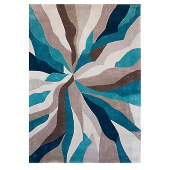 Teal Splinter hedendaagse tapijt Banbury