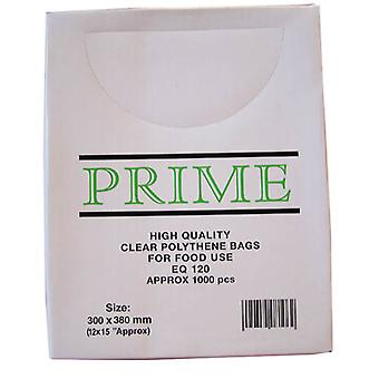 Clear Poly Weighout Bags (12x15