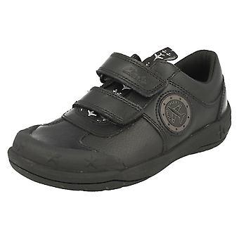 Boys Clarks School Shoes with Lights Jetsky Fun