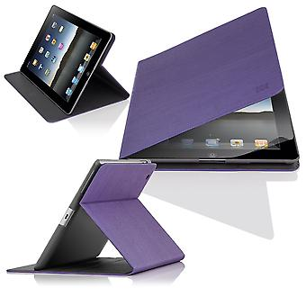 Slim Angle Cover case for Apple iPad Air 2 (iPad 6) - Purple