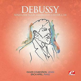 C. Debussy - Sonata for Violin Piano G Minor [CD] USA import
