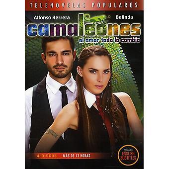 Camaleones [DVD] USA importerer