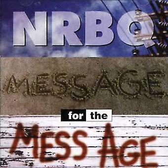 Nrbq - Message for the Mess Age [CD] USA import