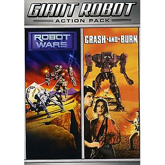 Absturz & Burn/Robot Wars [DVD] USA import