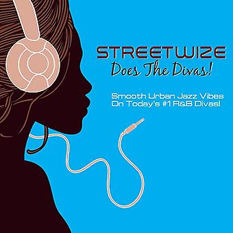 Streetwize - Does the Divas [CD] USA import