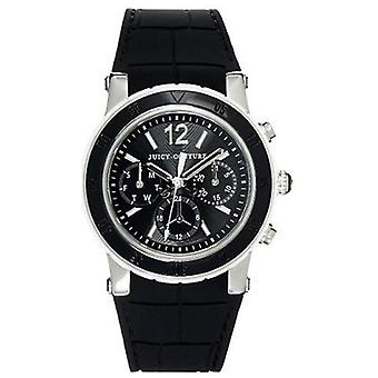 Juicy Couture HRH Black Rubber Ladies Watch 1900899