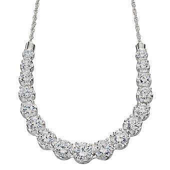 925 Silver Zirconia Necklace Fashionable