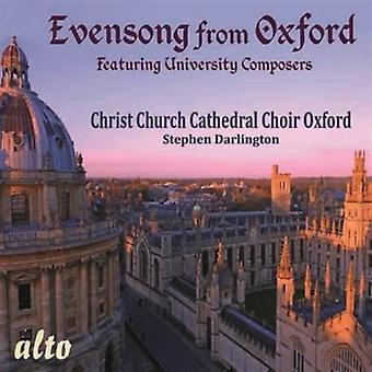 Christ Church Cathedral Choir Oxford - Evensong från Oxford [CD] USA import