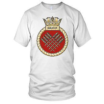 Royal Navy HMS Gleaner Ladies T Shirt