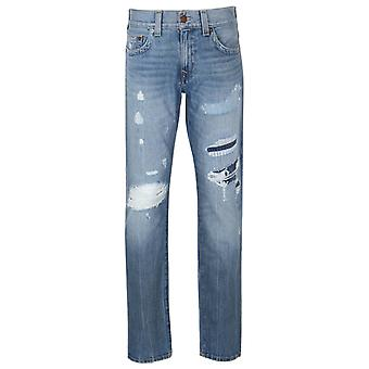 Vraie Religion Geno DQHM lavage abrasif Relaxed Slim Fit Jeans