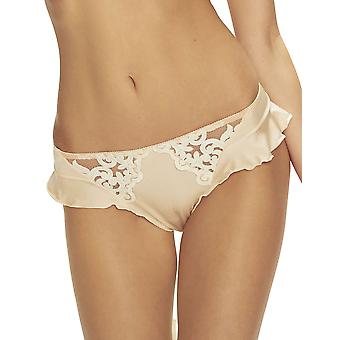 Confidante Women's Amber Moon Peachy Beige Panty Thong