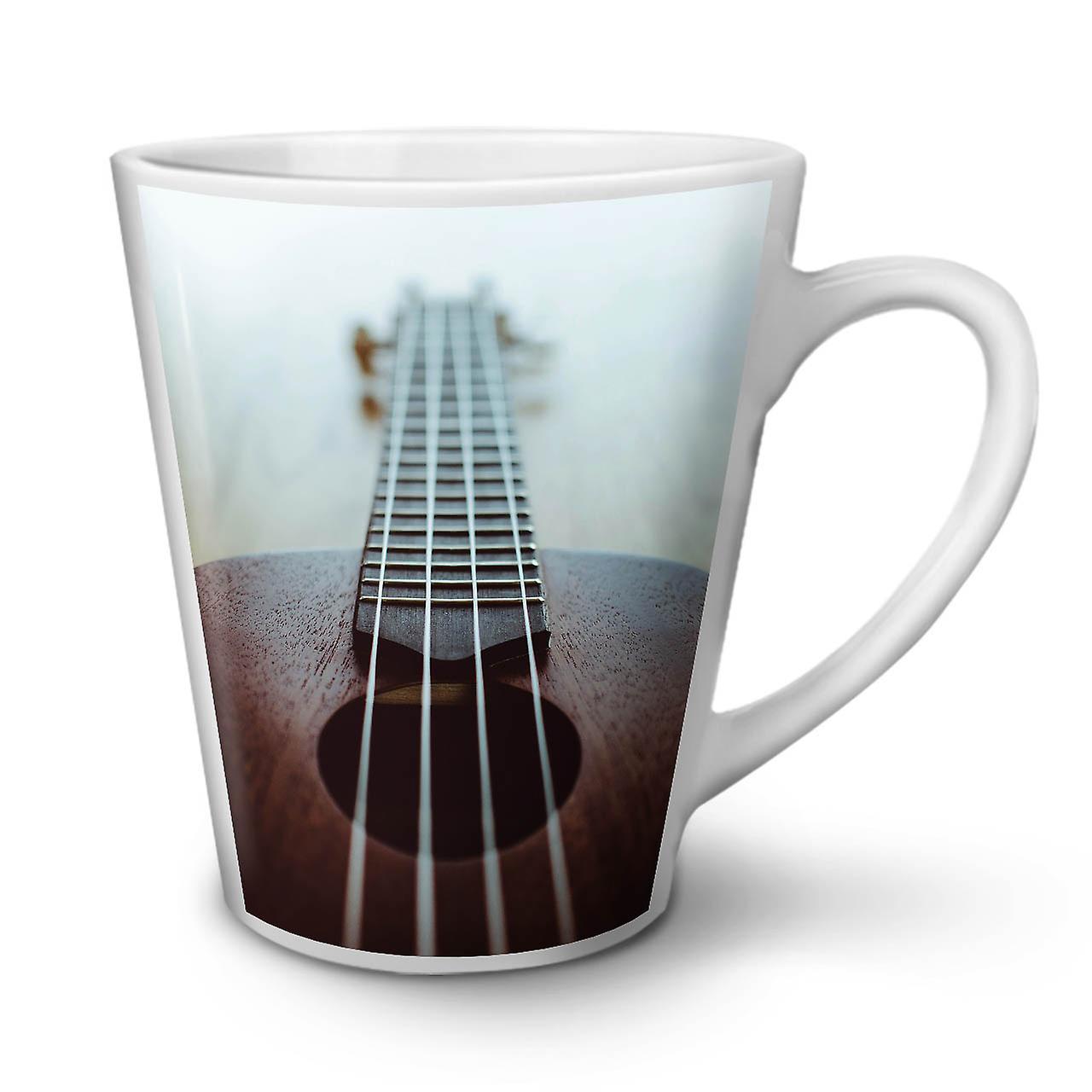 Céramique Thé Cordes OzWellcoda Nouveau Mug Art Blanc Pour Guitare 12 En Latte Musique Café q3jL4A5R