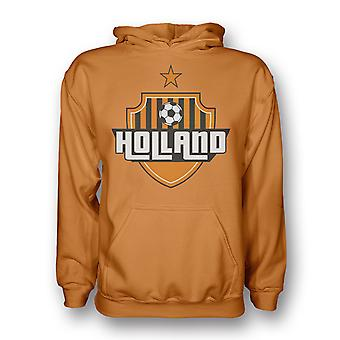 Holland Land Logo Hoody (Orange)