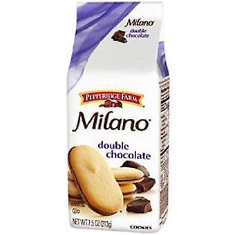 Pepperidge Farm Milano Double Chocolate Cookies 2 Bag Pack