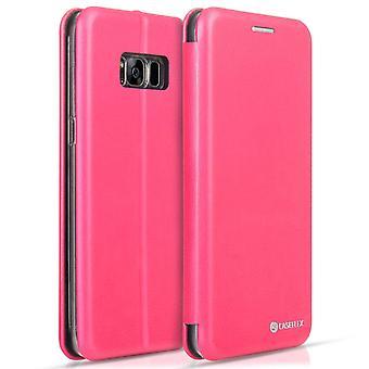 Caseflex Samsung Galaxy S8 Snap Wallet Case - Pink