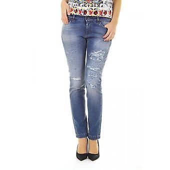 Dolce & Gabbana ladies distressed skinny jeans