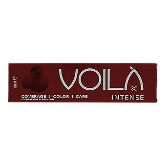 Intercosmo Voila Intense DK.Gold.Mahog.Blonde 6.35 Permanent Hair Colour 100ml
