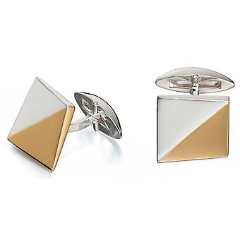 925 серебряные золото покрытием модным запонка