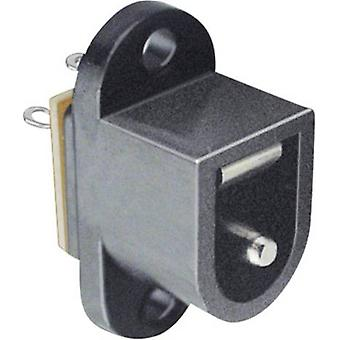 Low power connector Sleeve socket 6.4 mm 2.5 mm B