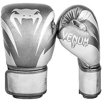 Venum Impact Boxing Gloves - Silver