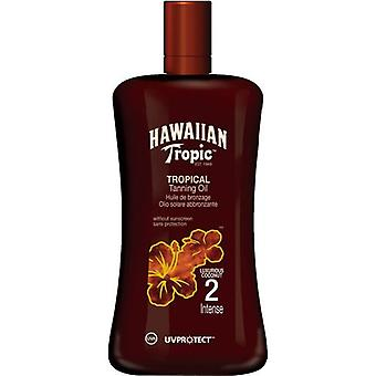 Hawaiian Tropic Ht tropical tanning oil SPF 2 intens 200 ml