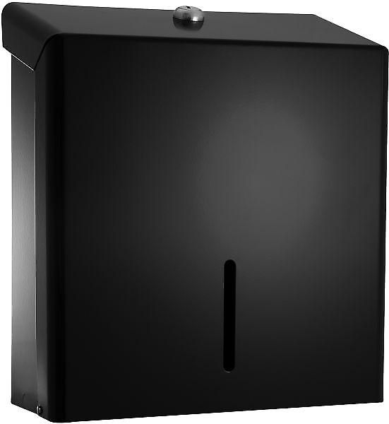 Pro Range Black Metal Paper Towel Dispenser