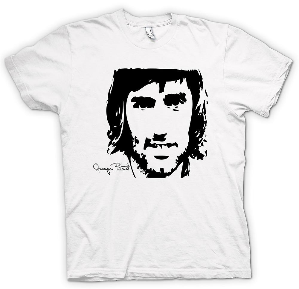 T-shirt Uomo - George Best - BW - Calcio