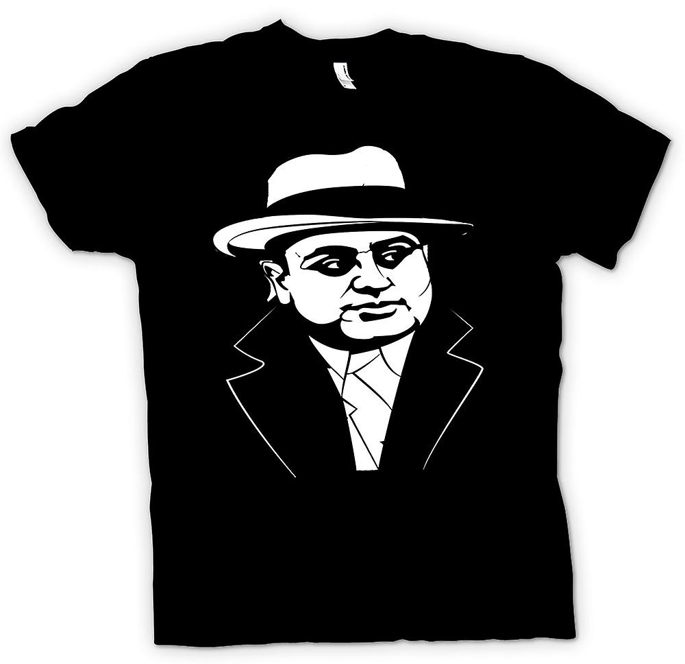 Womens T-shirt - Al Capone - Gangster