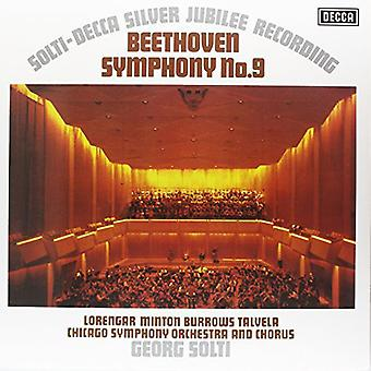 Sir Georg Solti - Beethoven: Symfoni No. 9 [1972 optagelse] [Vinyl] USA import