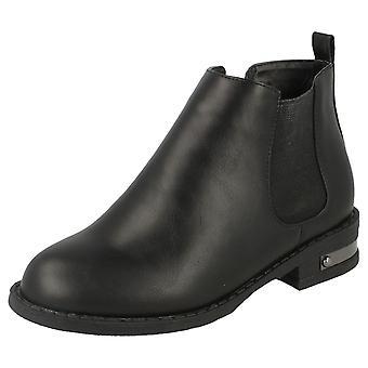 Piger Spot på Chelsea stil ankelstøvler