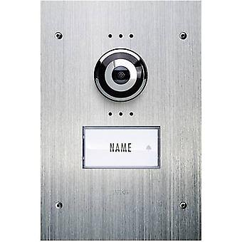 m-e modern-electronics VDV 910 Video door intercom Corded Outdoor panel Detached Stainless steel