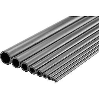 Carbon Pipe (Ø x L) 3 mm x 1000 mm Inside diameter: 2 mm 1 pc(s)