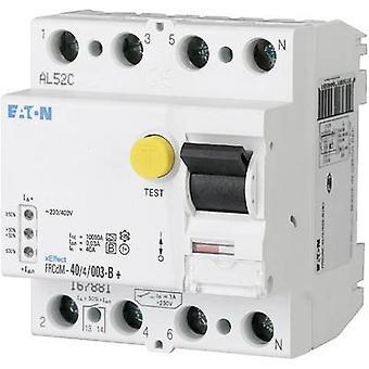 Eaton 167881 Jordfelsbrytare (AC/DC känslig) 4-pin 40 A 0,03 A 240 V, 415 V