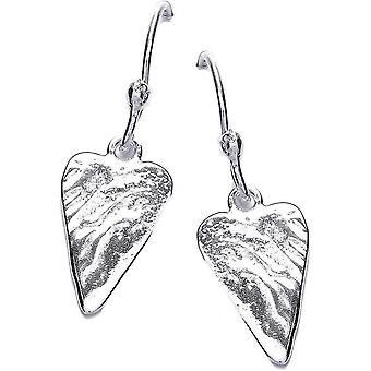 Cavendish French Straight From The Heart Earrings - Silver