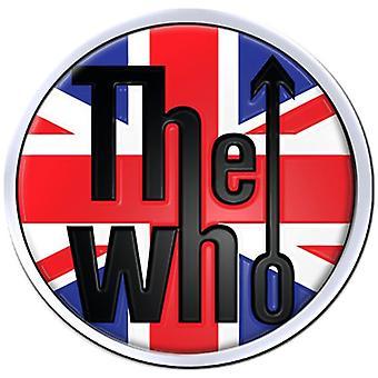 The Who Union Flag Metal / Enamel Pin Badge